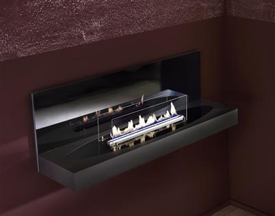 手动酒精壁炉 | Quadra Elipse Wall