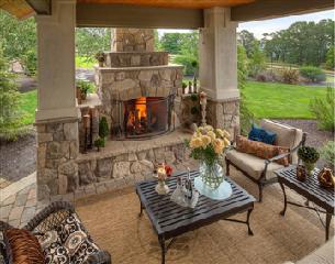 户外壁炉 |美式庭院壁炉
