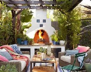 户外壁炉 |希腊庭院壁炉
