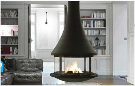 悬挂式壁炉是什么?这两款壁炉告诉你